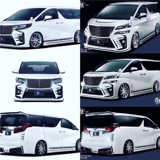 丰田威尔法和埃尔法及MPV商务各本差别-图10