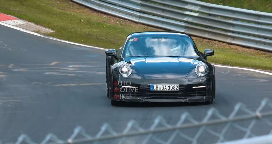 新款保時捷911 GT3測試諜照曝光