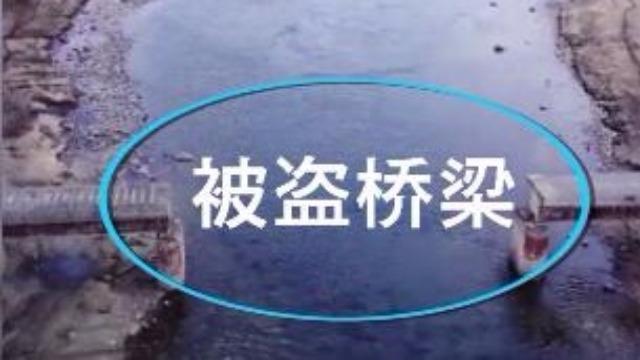 硬核偷盗!战斗民族56吨重的铁路桥被偷走