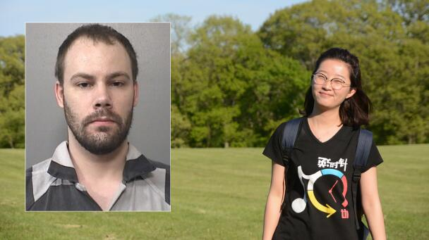 杀害华女的白人嫌犯庭审细节:表面平静 手指发抖