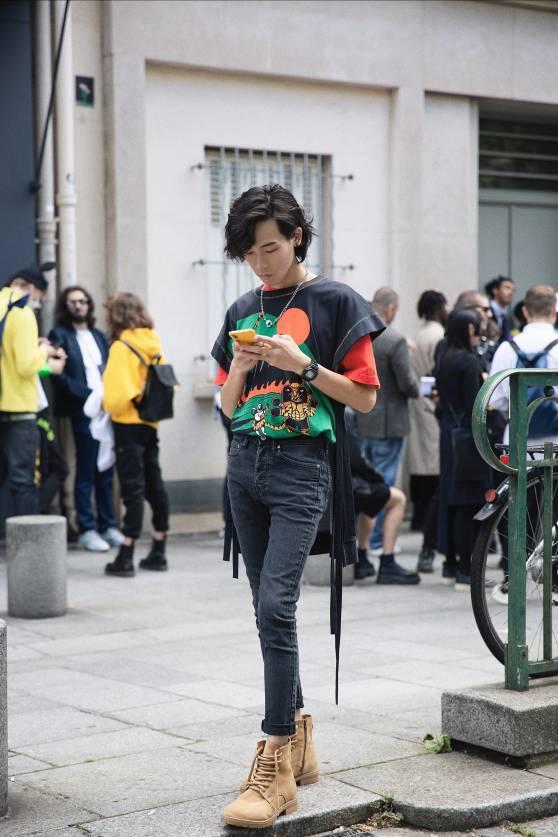 時尚博主DANSO旦受邀出席LANVIN 男裝大秀,2020春夏巴黎時裝周精彩不斷!