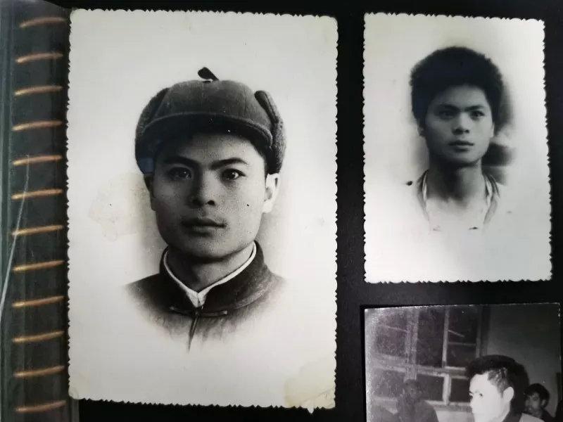 年轻时的邓世平龚菁琦摄