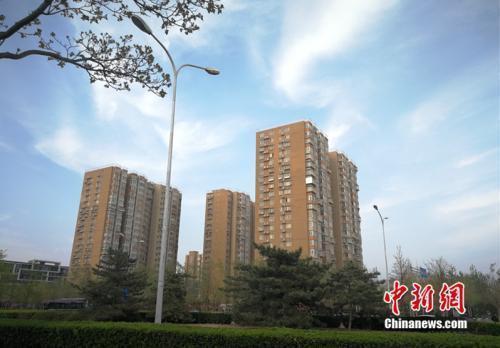 资料图:北京市丰台区小屯路某小区外景。中新网邱宇摄