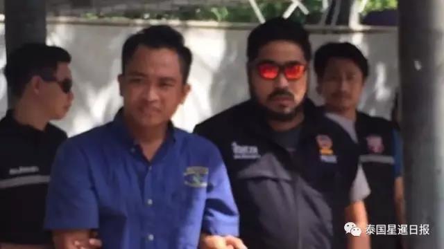 泰国司机强奸打劫中国女游客 指认现场时笑得开心
