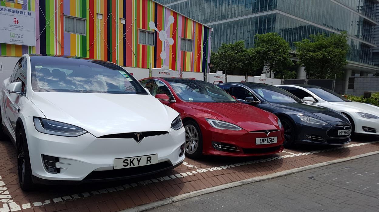 """特斯拉公司在香港的汽车销量陷入停滞 特斯拉回应是""""短期""""挑战"""
