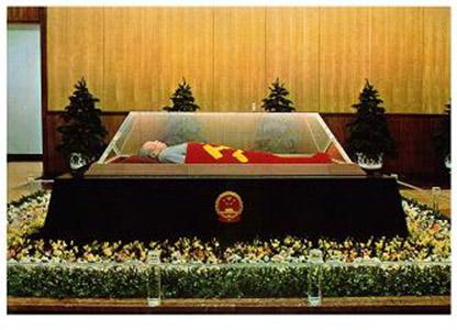 """毛泽东遗体在_毛主席纪念堂采用何技术起到对遗体""""整容""""作用?_手机凤凰网"""