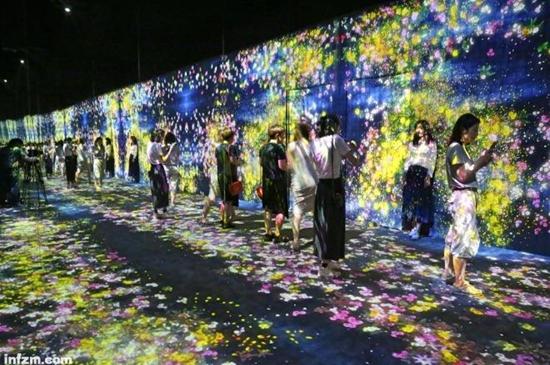 多媒体艺术_新媒体艺术展受追捧大排长龙是景点还是艺术馆?_凤凰文化