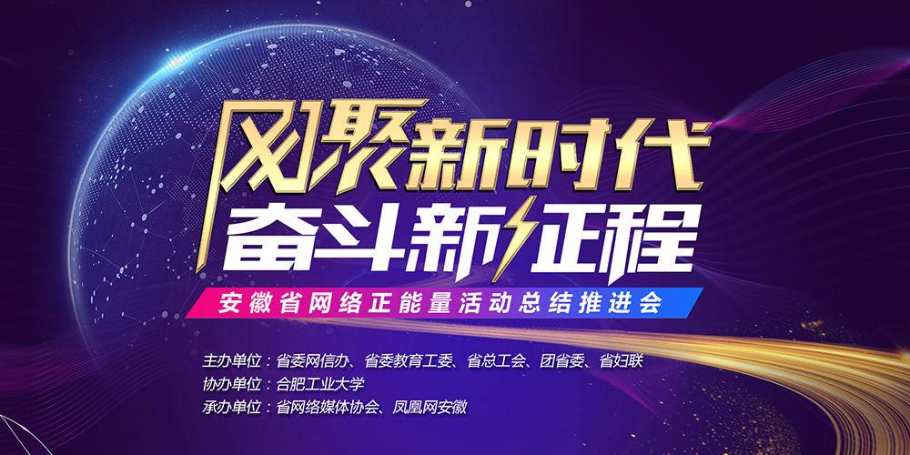 2019安徽省网络正能量活动总结推进会