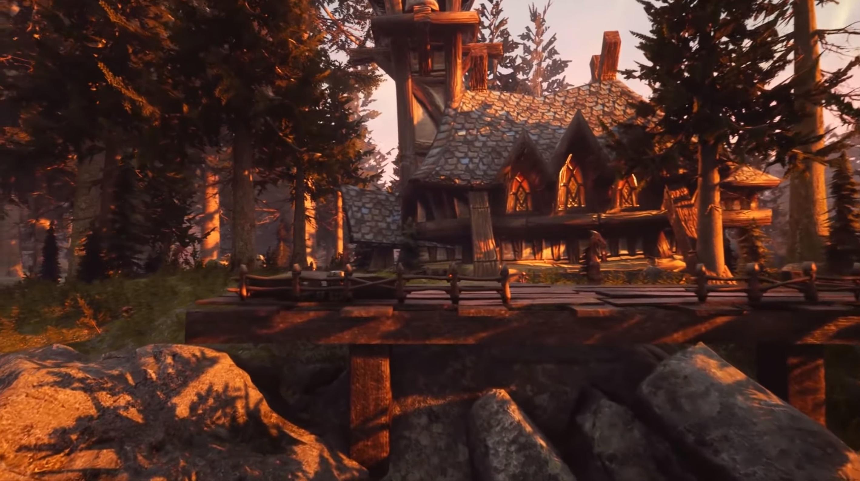 军事资讯_用虚幻4引擎重制的《魔兽世界》:这画面不得了_凤凰网游戏