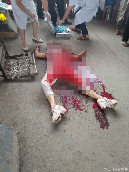 被捅死的美女_河南灵宝一女子街头遭抢遇害,目击者称其拼命护包被捅死_凤凰 ...