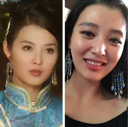 海兰珠和大玉儿_《孝庄秘史》十位古装美女之今昔对比照_娱乐频道_凤凰网