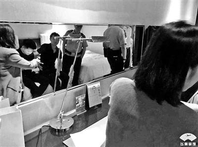杭州一喜來登酒店房間現針孔攝像頭? 警方:被