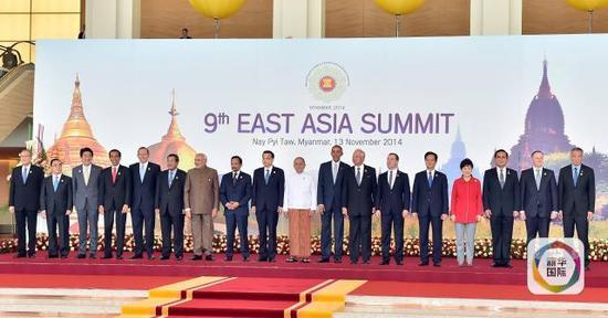 几个2014年_2014年11月13日,克强总理在缅甸内比都出席第九届东亚峰会.